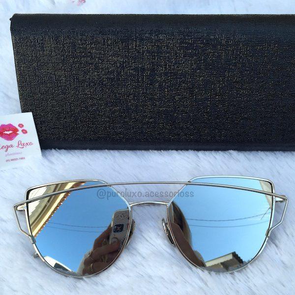 a048d223879ba Óculos Dior 0204 ll Prata - Puro Luxo Acessórios