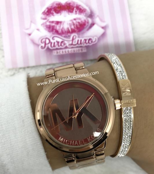 7daff2c1691b5 Relógio Michael Kors MK Café - Puro Luxo Acessórios
