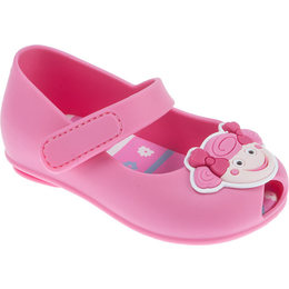 Sapatilha Bebê Pimpolho Colorê Fuchsia - Pink - Menina