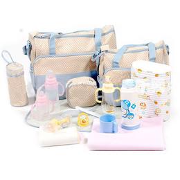 Kit Bolsa mamãe e bebê Space Bag 5 peças