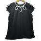 Blusa Feminina Social Estilo Chanel Delicada PeB