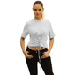 Camiseta Feminina Moda Anos 90 Blusa Slip T-shirt Amarado