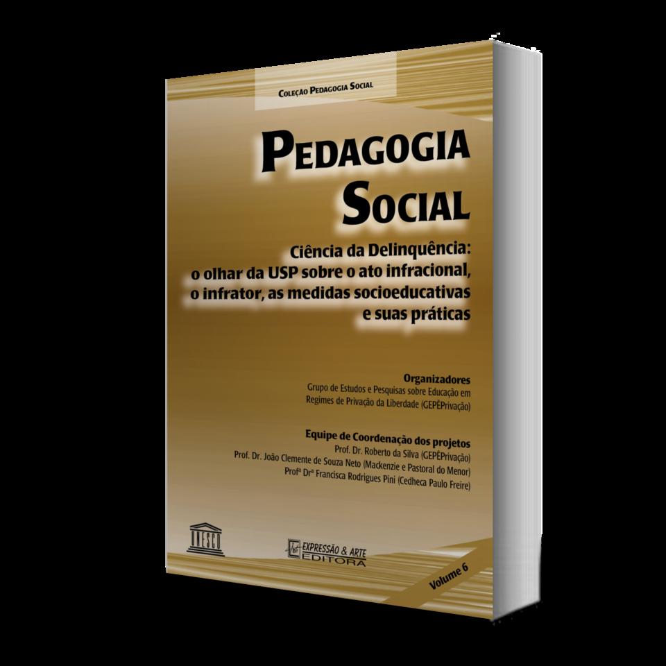 Pedagogia Social - Vol. VI - Ciência da Delinquência: o olhar da USP sobre o ato infracional, o infrator, as medidas socioeducativas e suas práticas