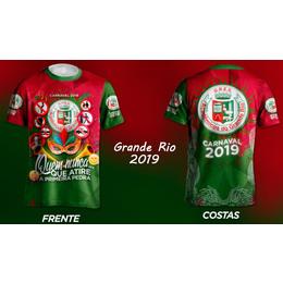 Camisa da Grande Rio 2019 - Enredo Carnaval 2019 c182e974a35ce