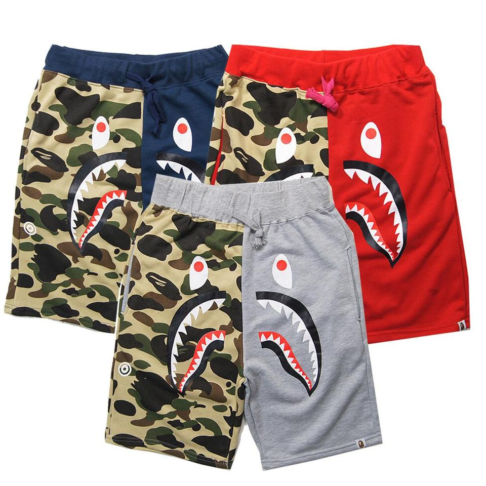 e3542e013 Shorts BAPE Shark - Camo Shorts BAPE Shark - Camo