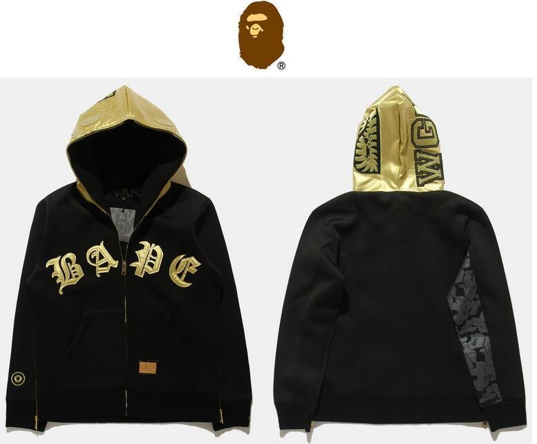 Jaqueta BAPE - Golden Shark
