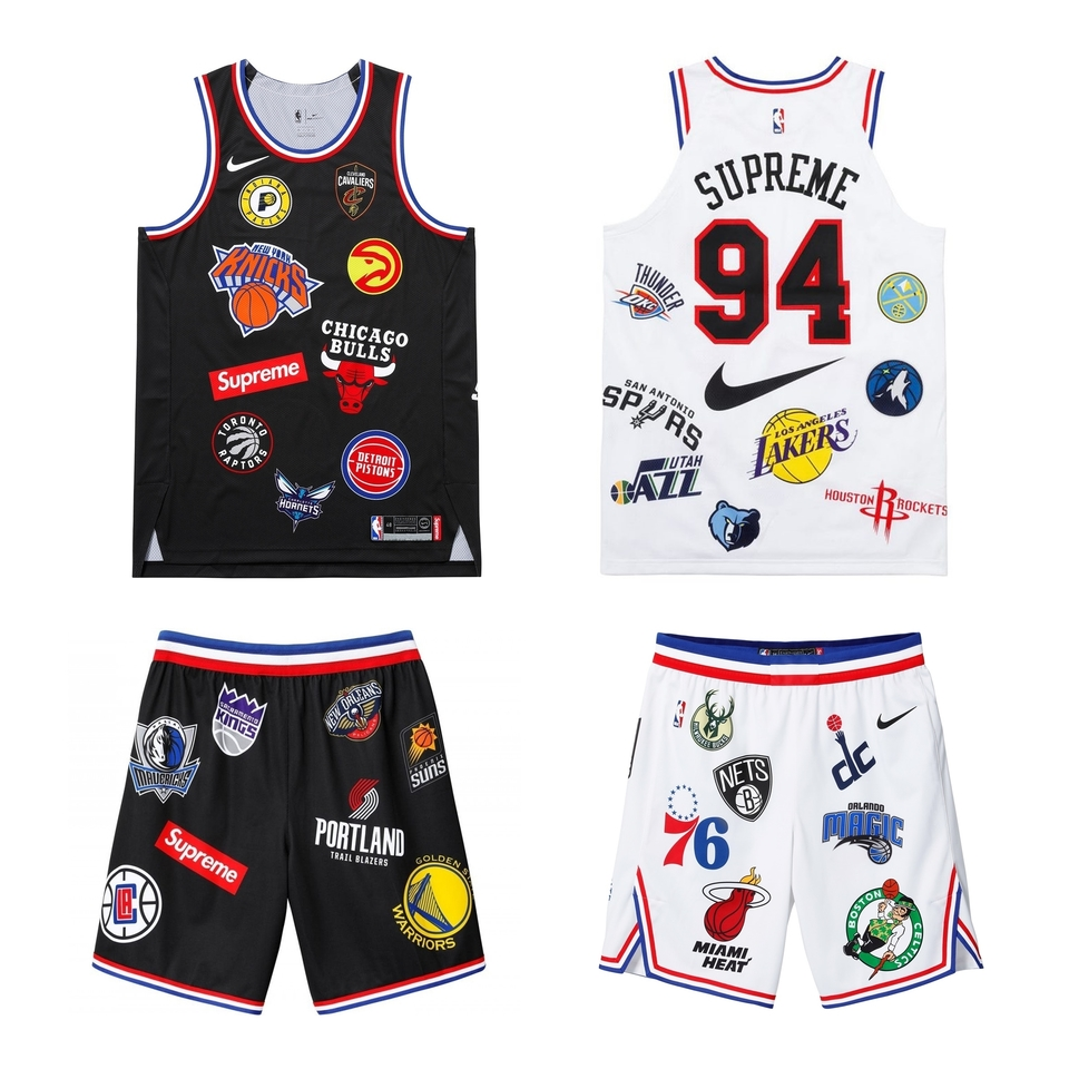 1a93db7989 Conjunto SUPREME x NIKELAB - NBA Teams Conjunto SUPREME x NIKELAB - NBA  Teams