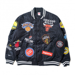 47a1a70cd7 Jaqueta bomber SUPREME x NIKELAB - NBA Teams