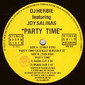 DJ Herbie Featuring Joy Salinas ‎– Party Time 12""