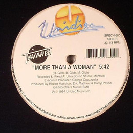 """Tavares – Heaven Must Be Missing An Angel / More Than A Woman 12"""""""
