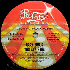 The Strikers – Body Music 12
