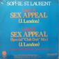 """Sophie St. Laurent – Sex Appeal (Compacto Nacional) 7"""""""