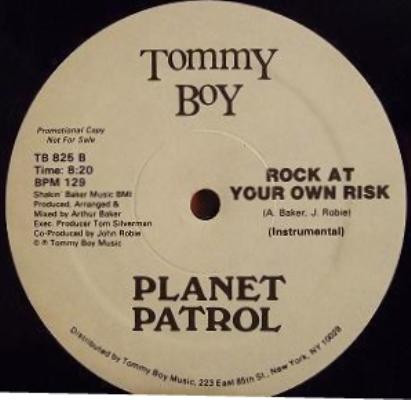 Disco Vinil Importado Planet Patrol – Play At Your Own