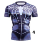 Camiseta homem aranha diversos modelos prata ferro preta original academia malhar