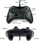 Controle Xbox One PC Notebook Preto Branco Confortável