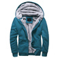 Jaqueta Blusa de Frio Masculina com Capuz com forro de Lã - TOP - Moda Evangélica