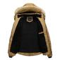 Jaqueta Casaco Blusa de Frio Bomber Masculina Forrada com Capuz com forro de Lã