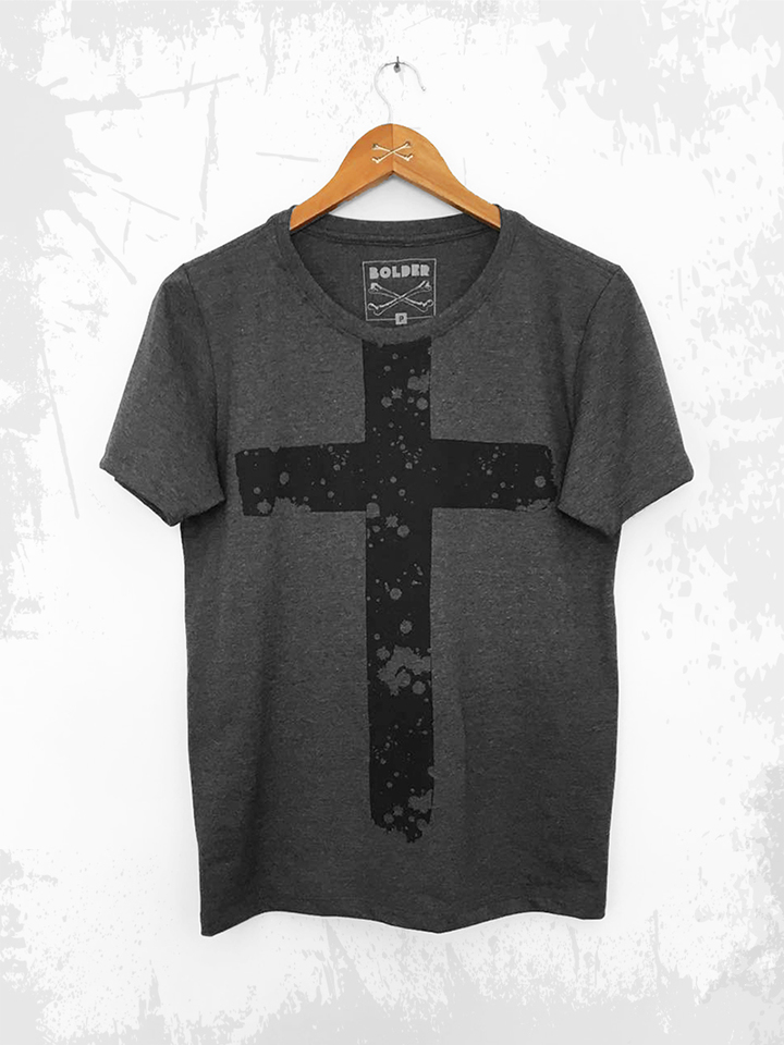 CAMISETA THE CROSS GRAFITE