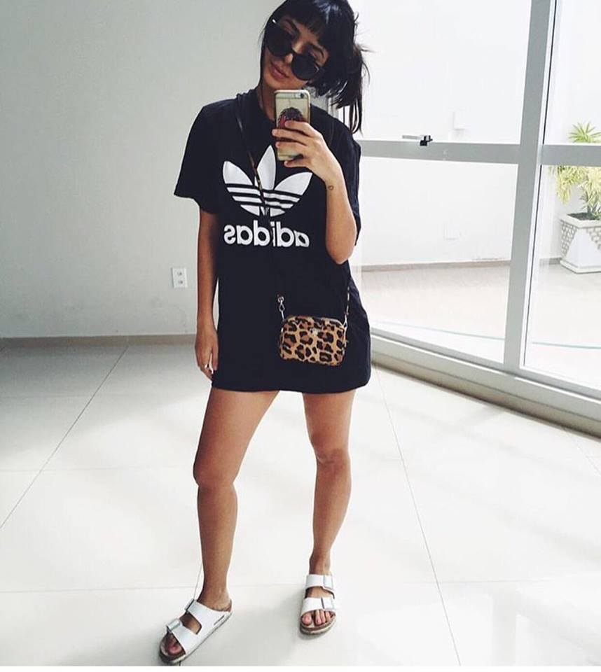 c512e18d738 Blusa Adidas Inspired - Preto ou Branco - SouMaisModa
